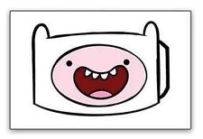 New Officially Licensed Adventure Time Finn Face Cartoon Mens Belt Buckle
