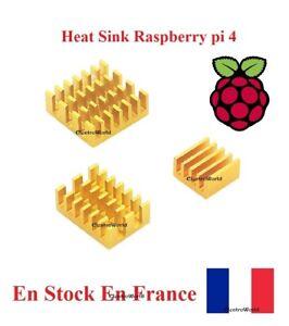 Dissipateur Heat Sink Adhésif Thermique  Radiateur Cooling  Raspberry pi 4B