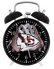 Kansas City Chiefs Football Alarm Desk Clock Home Decor F121 Nice Gift