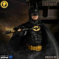 2020 Mezco Exclusive One 12 BATMAN 1989 Michael Keaton Tim Burton *PRE-ORDER*