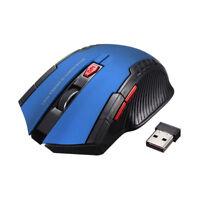 Mouse inalámbrico, USB 2.0, sin cable #345 PC y Portátil, + en tienda, Raton