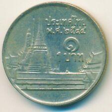 COIN / THAILAND 1 THAI BAHT 2001      #WT14456