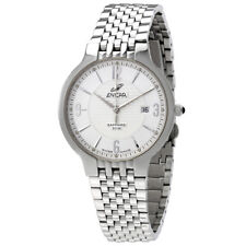 Enicar Silver Dial Stainless Steel Automatic Unisex Watch 955/33/2772AKA