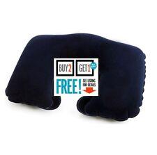 Travel Neck Pillow-Gonflable Appui-tête Coussin-Bleu