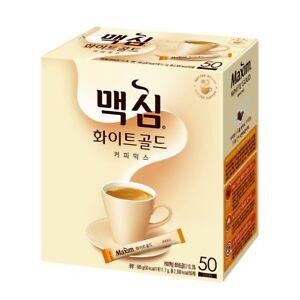 [Maxim] White Gold Coffee Mix 50 sticks Instant Coffee Mix