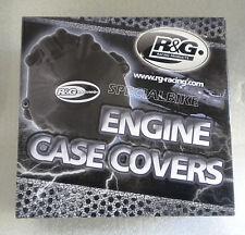 KAWASAKI ZX 10 R NINJA 2004 > 2005 KIT PROTEZIONE CARTER MOTORE R&G CRANK CASE