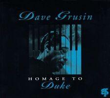 DAVE GRUSIN Homage to Duke LN CD,1993