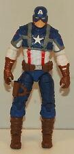 "2010 Captain America 4"" Hasbro Action Figure Avengers Marvel Comics"