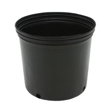 3 Gallon Nursery Pots Outdoor Vegetable Flower Plant Plastic Pot Garden 10 Pack