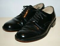 Clarks Men's Fashion Smart Polish Black All Leather 5-Eyes Derby Shoes Size 9 UK
