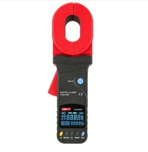 UNI-T UT278A+ Clamp Earth Tester Resistance Data Storage Visual/Audible Alarm
