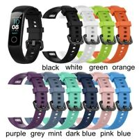 US Silicone Watch Band Replacement Smart Bracelet Strap For Huawei Honor Band 4