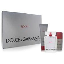 THE ONE SPORT by Dolce & Gabbana 3 PCS GIFT SET MEN 3.3 oz / 100 ml EDT Spray