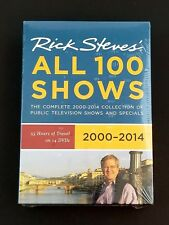 Rick Steves Europe 2000-2014: All 100 Shows DVD, 2013, 14-Disc Set