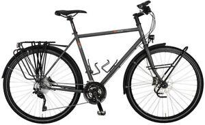 """NEU 28"""" VSF Fahrradmanufaktur T-800 XT Disc Diamant Herren 30K Tour 2021 grau"""