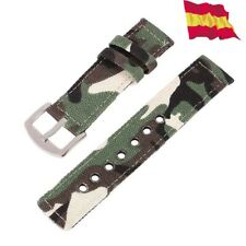 18mm nylon strap military watch replacement for casio F 91 camouflage 15