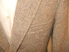 Vtg Pendleton Tweed Norfolk Sport Coat Belted Back Shoulder Pleats Hunting 40