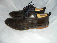 CHARLES TYRWHIT MEN'S BROWN LEATHER LACE UP SHOES  SIZE UK 10.5 EU 44.5  VGC