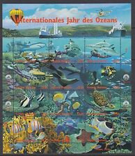 MICRONESIA :1988 Truk Lagoon sheetlet SG95-112 MNH