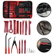19pcs Trim Removal Tool Kit Trimmer Set Car Puller Door Pry Clip Plier Remover