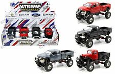 NEWRAY 1:32 XTREME OFF-ROAD PICKUP TRUCK ASSORTMENT SET OF 4 CARS SS-54511