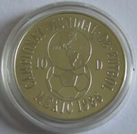 Andorra 10 Diners 1986 Football World Cup in Mexico Silver