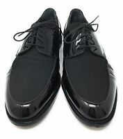 Cole Haan Mens Black Leather Made in Italy Oxfords Dress Shoes SZ 11.5 D