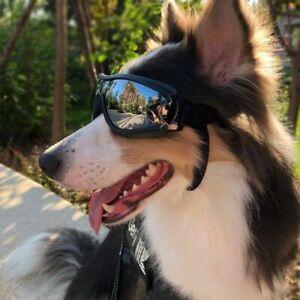 Dog Sunglasses Goggles Pet UV Protection Accessory Glasses Adjustable Windproof