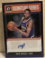 2018-19 Donruss Optic RR Signatures Series Purple Mikal Bridges RC #SG-MKB GEM!