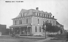 Real Photo Postcard Commercial Hotel in Wabasso, Minnesota~109678