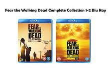 Fear the Walking Dead Complete Series Collection 1-2 Blu Ray Season 1 2 UK Rele