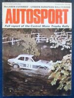 AUTOSPORT MAGAZINE SEPTEMBER 19 1974 VOL 56 NO 10.