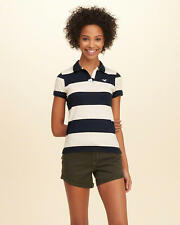 HOLLISTER Rugby Stripe Slim Polo Medium **Brand New w/ Tag**