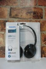 PHILIPS FLITE ULTRLITE HEADPHONES BLACK MODEL NO SHB4405 NEW IN BOX SEALED