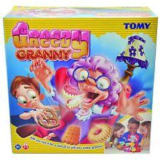 TOMY Greedy Granny Children's Preschool Action Game 2-4P - Sneak Biscuits Away!