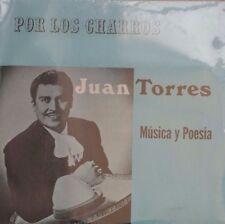 JUAN TORRES POR LOS CHARROS MEXICAN LP STILL SEALED RANCHERAS / POETRY