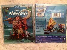 MOANA BLU-RAY + DVD (Disney 2017) Brand New, Free Shiping, Family Fun