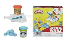 SFK Play-Doh Star Wars Luke Skywalker and Snowtrooper Can-Heads