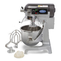 General GEM120 Commercial 20 Quart Planetary Stand Mixer w/ Timer 1.5HP #12 Hub