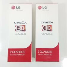 LG Cinema AG-F310 3D Polarized PASSIVE GLASSES for LCD LED TV 4 Pairs