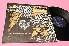 BRAHMS LP SINF N° 4 OVERTURE TRAGICA ORIG FRANCE EX TOP CLASSICA