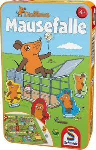 Schmidt 51405 - Maus, Mausefalle, Reisespiel