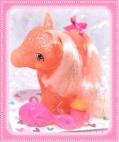 ❤️My Little Pony MLP G1 Vtg MAIL ORDER Sunspot SPARKLE Glitter Sun Pink Hair❤️