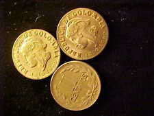 Colombia Two Centavos Commemorative 1810-1960 Lot Of 3 Coins