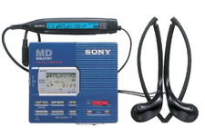 Sony Md Walkman minidisc player and recorder