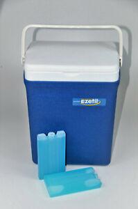 Ezetil SF 16  Kühlbox  passiv blau + 2 220g Kühlakkus