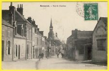 cpa BONNEVAL Eure et Loir Rue de CHARTRES Peinture Sellerie automobile THUAULT