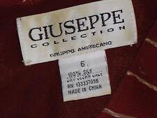 GIUSEPPE COLLECTION SleevelessFloaty100%Silk Sz6(Aus8)