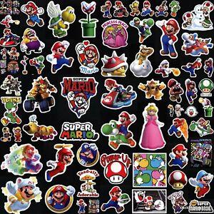 Super Mario Bros Kart Smash 90+ Designs! Laptop Car Phone Helmet Vinyl Stickers