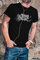 MORBID ANGEL Men Black T-Shirt Metal Band Tee Shirt Entombed Deicide Exhumed